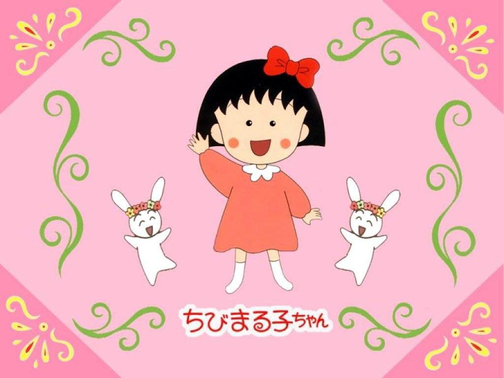 La-simpática-Maruko-protagonista-de-las-comiquitas-manga-japonesas-Chibi-Maruko-Chan-que-nos-cont-wallpaper-wp426992