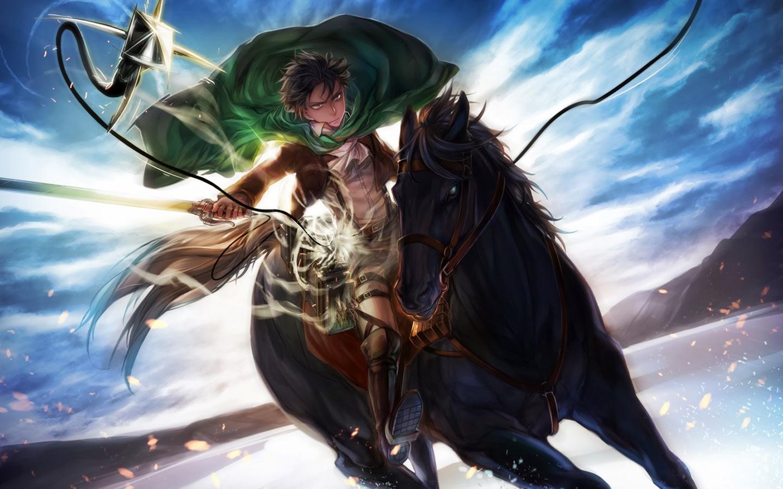 Levi-Ackerman-with-Black-Horse-Attack-on-TItan-HD-wallpaper-wp427109