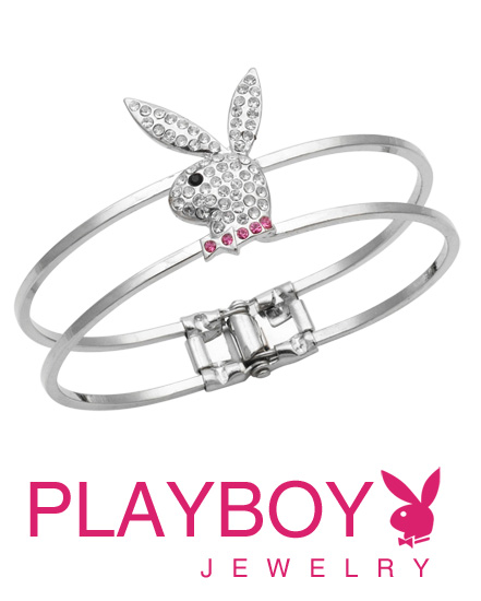 Licensed-Playboy-Bunny-Clasp-Jeweled-Bracelet-wallpaper-wp3007971