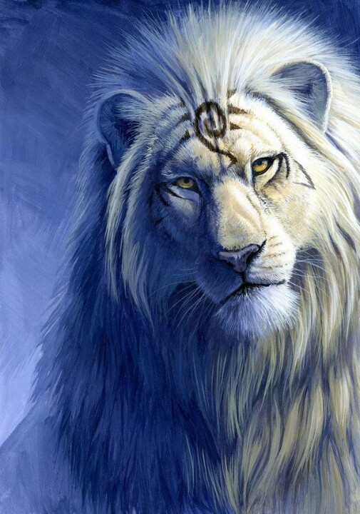 Lion-as-proud-and-handsome-as-any-of-the-mystical-beasts-in-this-fairytale-land-wallpaper-wp4607793