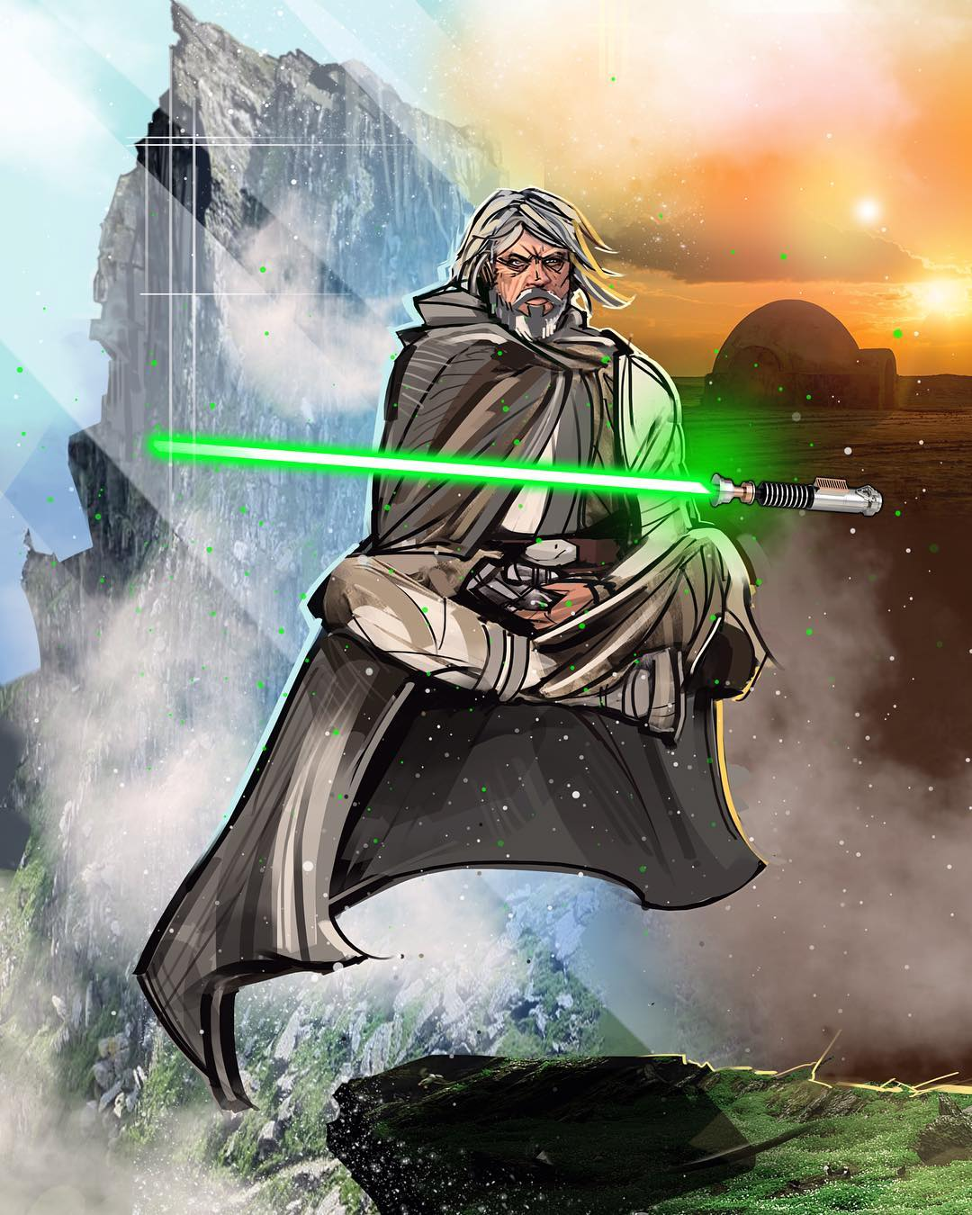 Luke-Skywalker-by-venamisart-Eli-Hyder-wallpaper-wp3408322