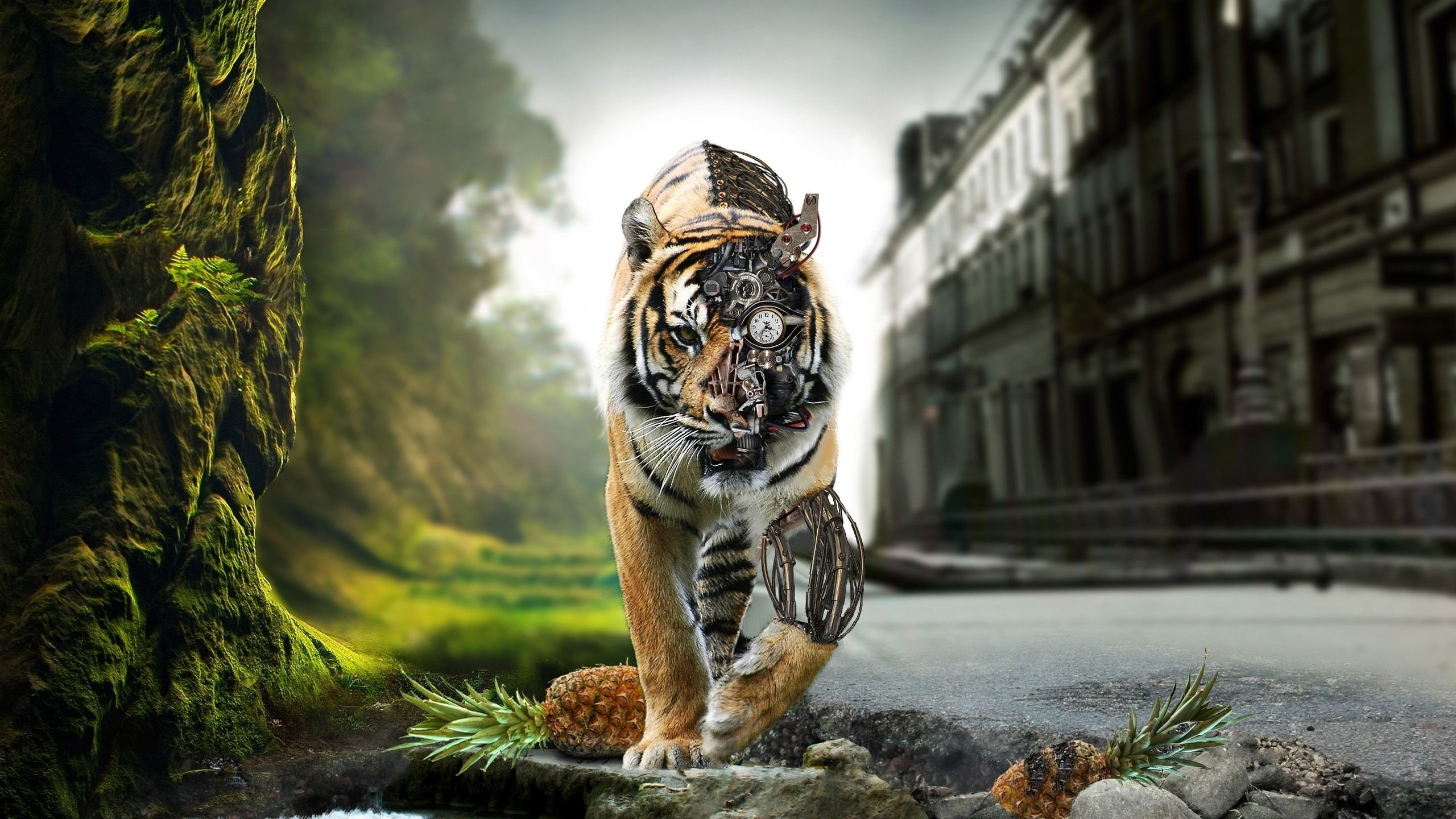 Mechanical-tiger-x-wallpaper-wp5209219