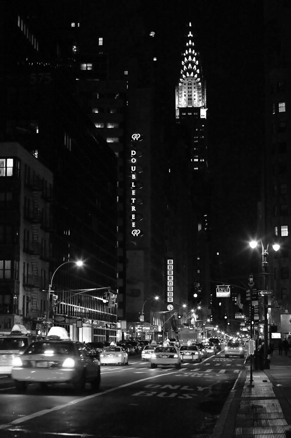 New-York-City-Photography-Big-City-Nights-Lexington-Avenue-and-The-Chrysler-Building-wallpaper-wp5808228-1