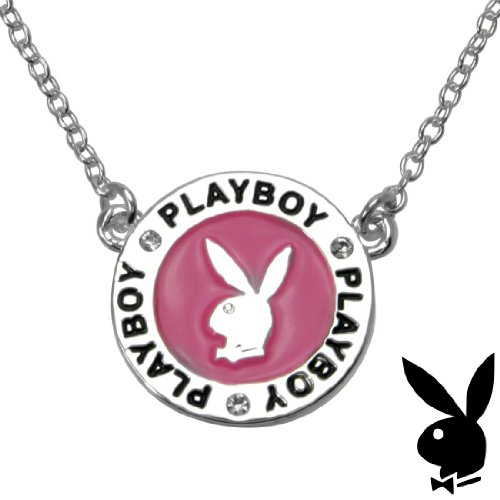 Official-Playboy-Necklace-Silver-Plated-Medallion-Pink-Enamel-Bunny-Logo-Charm-Authentic-Licensed-Je-wallpaper-wp5407552