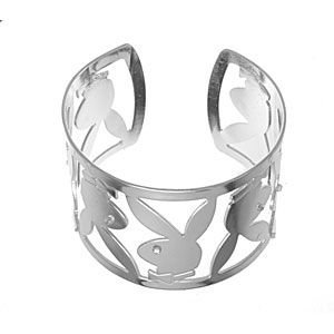 Officially-Licensed-Playboy-Bracelet-Cuff-Style-features-Iconic-Bunny-Logo-Rabbit-Head-Design-Genuin-wallpaper-wp5407554
