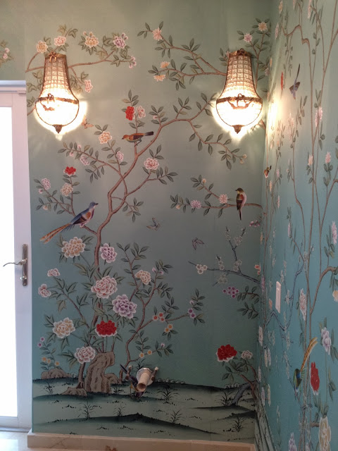 One-Room-Challenge-Week-Two-The-Glam-Pad-Faux-Gracie-from-Shanghai-wallpaper-wp50010831