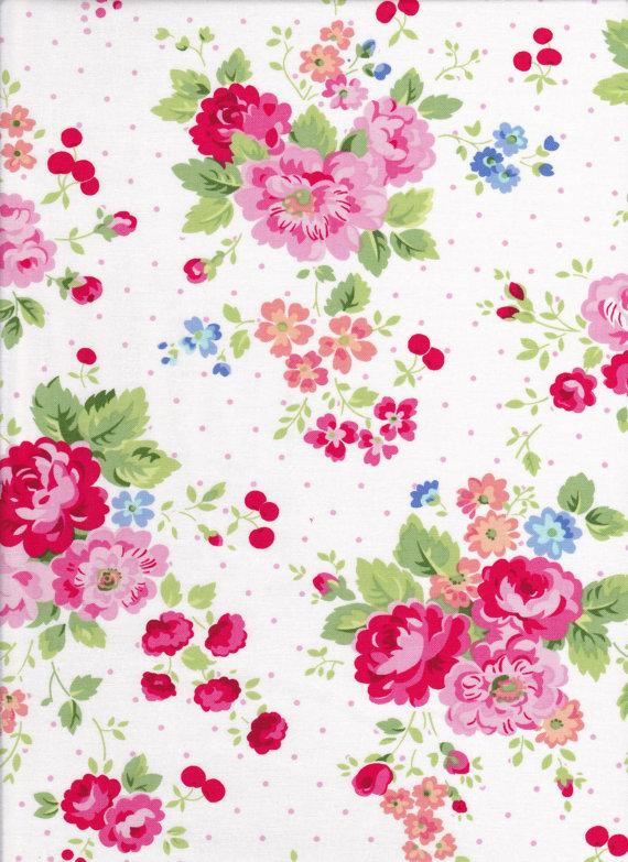 PAM-Kitty-piquenique-Floral-avec-cerises-par-DonnasLavenderNest-wallpaper-wp428222