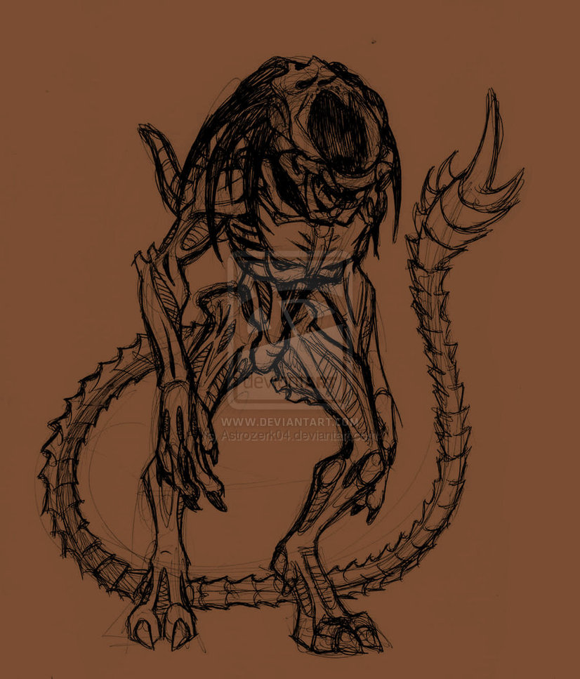 Predalien-ball-point-by-AstroZerk-on-deviantART-wallpaper-wp50011311