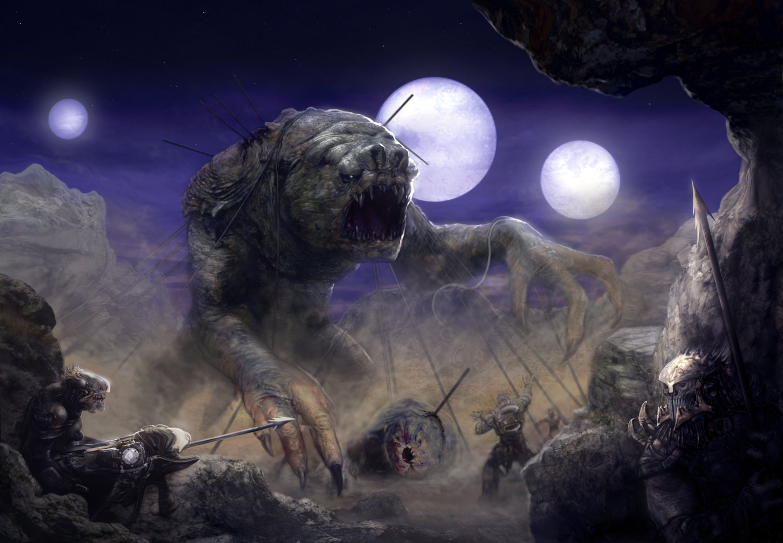RANCOR-HUNTERS-by-LiamSharp-on-deviantART-wallpaper-wp34010242