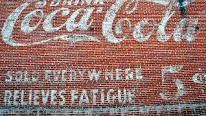 Coca Cola Wall Ideat taustakuva