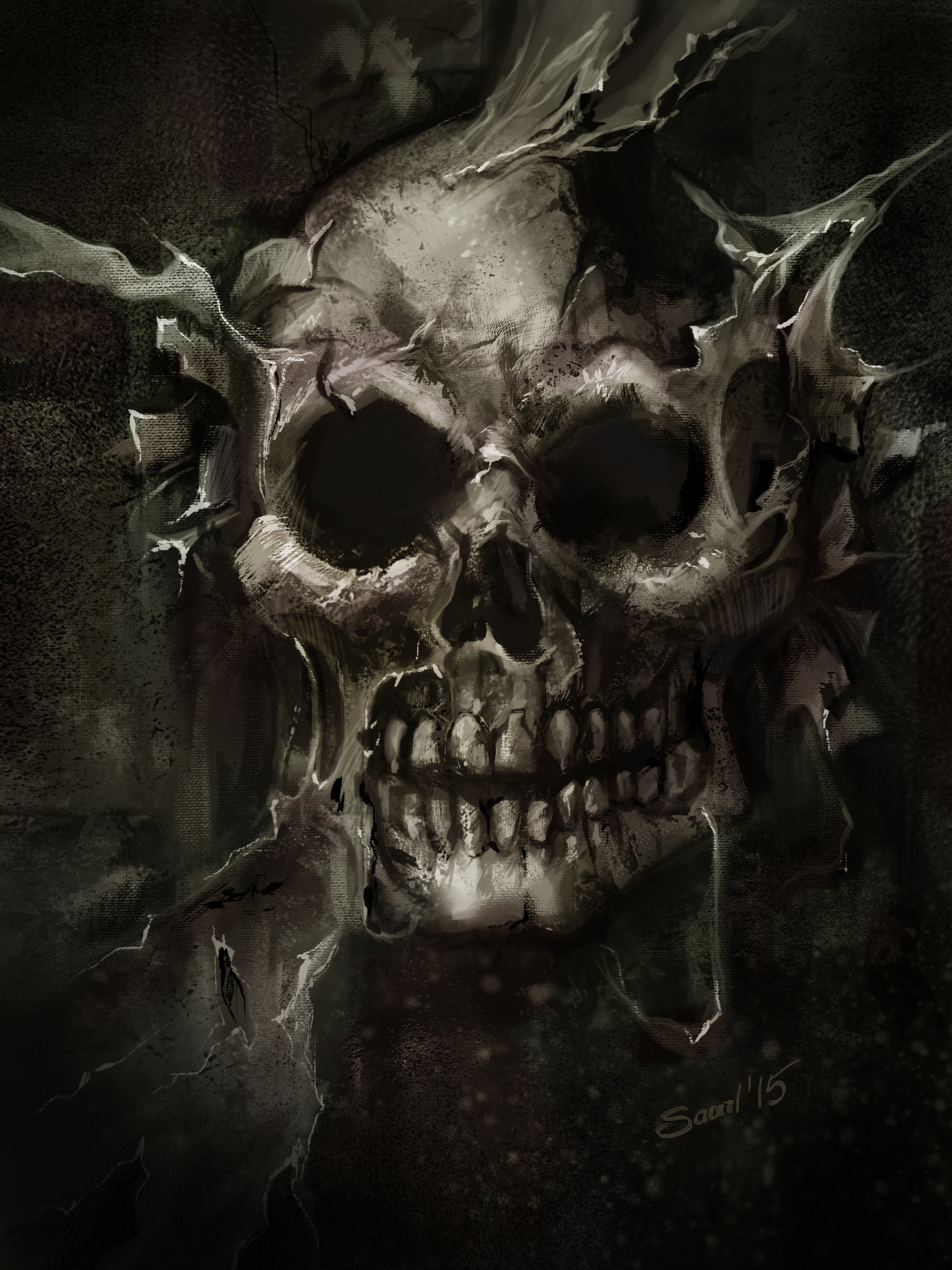 Skull-by-Saarl-wallpaper-wp429132-1