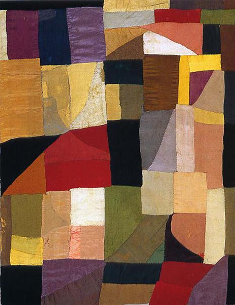 "Sonia-Delauney-Cradle-Blanket-appliquéd-fabric-x-""-Centre-Pompidou-wallpaper-wp429264"