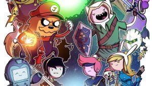 Adventure Time tapetti