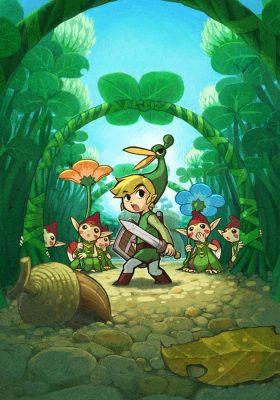 The Legend of Zelda The Minish Cap wallpaper