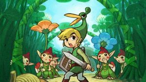 The Legend of Zelda The Minish Cap kertas dinding