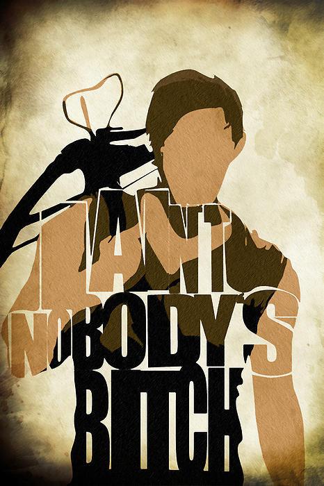 The-Walking-Dead-Inspired-Daryl-Dixon-Typographic-Artwork-Print-By-Ayse-Deniz-wallpaper-wp58010089-1