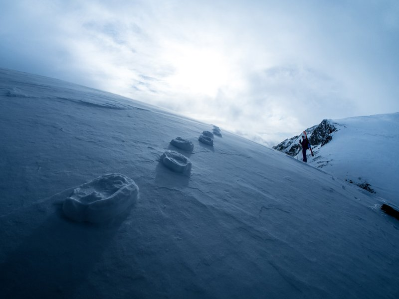 The-photo-was-taken-on-March-th-at-pm-in-Norway-while-ascending-the-highest-mountain-in-S-wallpaper-wp48011199