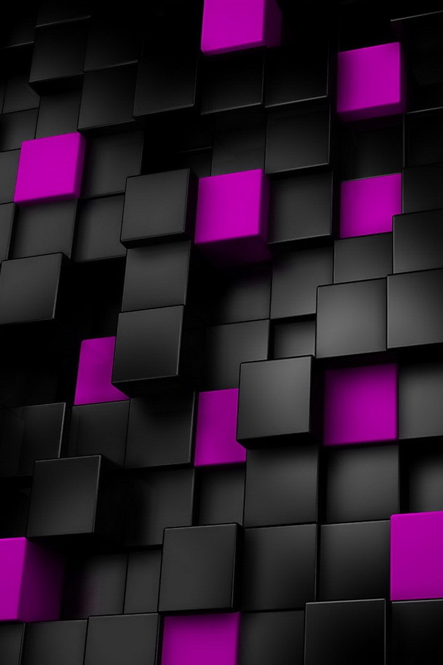 The-purple-and-black-squares-wallpaper-wp429819