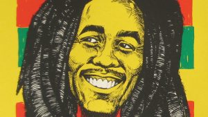 Bob Marley room idee! wallpaper
