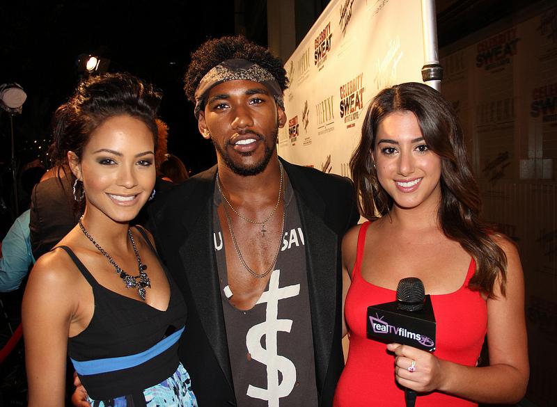 Tristin-Mays-Brandon-Mychal-Smith-Nicole-Brajer-Celebrity-Sweat-ESPY-Awards-Party-wallpaper-wp52012059