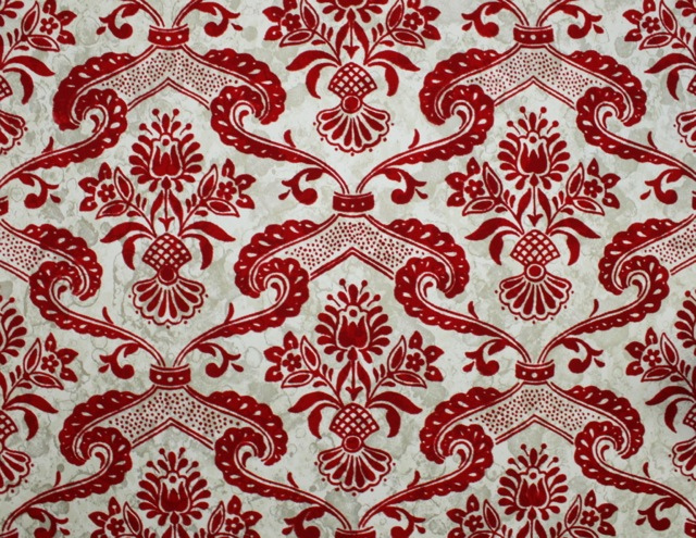 Vintage-Flocked-Red-Damask-wallpaper-wp4008302