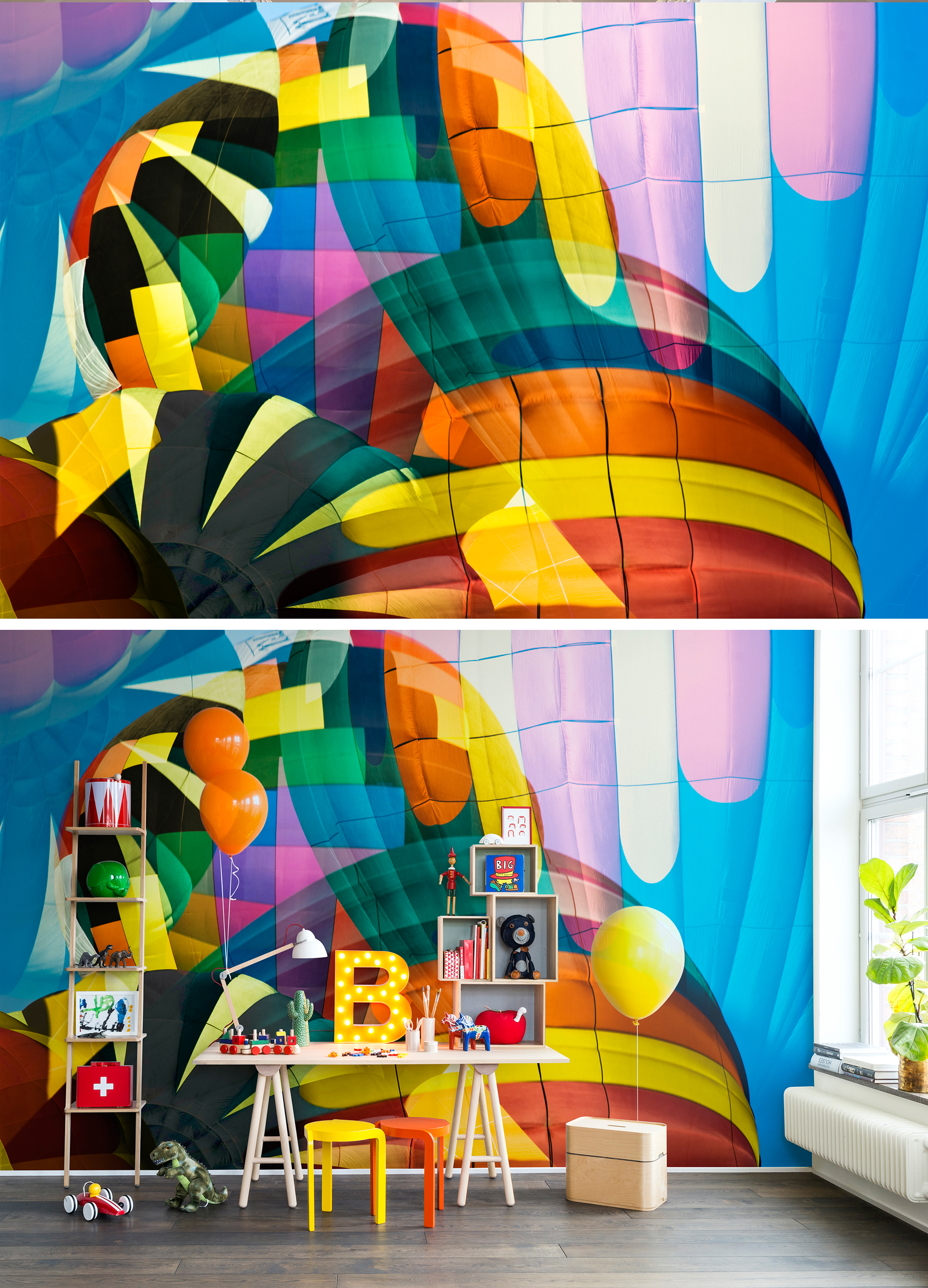 WALL-MURAL-COLOURFUL-PLAYFUL-HOT-AIR-BALLONS-PHOTO-AIR-ADVENTURE-wallpaper-wp44012611