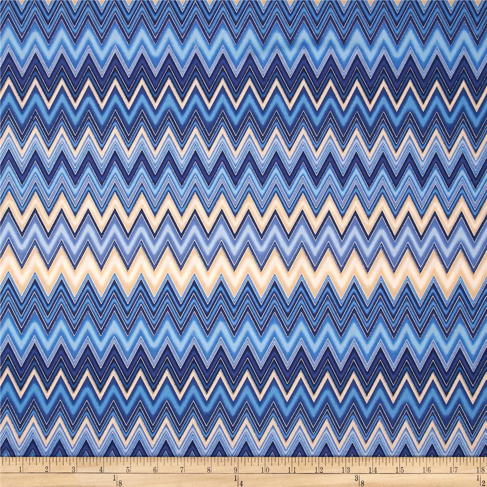 Winters-Grandeur-Metallic-Chevron-Indigo-from-fabricdotcom-yd-wallpaper-wp4008544