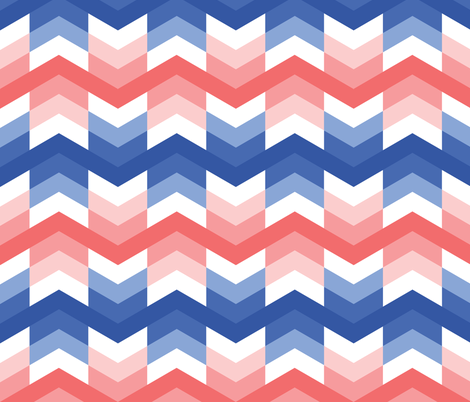 Zigzag-arrows-in-Blue-and-Coral-fabric-by-little-fish-on-Spoonflower-custom-fabric-wallpaper-wp4008635