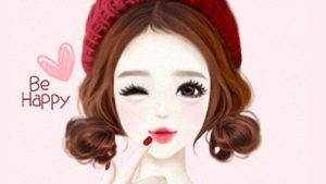 korean cute cartoon wallpaper