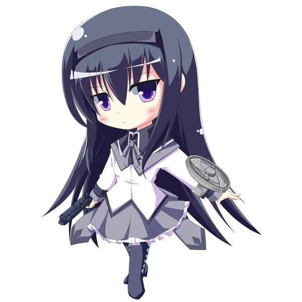 akemi-homura-black-hair-chibi-gun-hairband-kibunya-long-hair-magical-girl-mahou-shoujo-madoka-magica-wallpaper-wp5004377