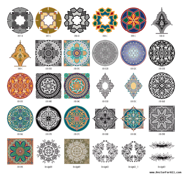 arabesque-clipart-vector-wallpaper-wp5004705