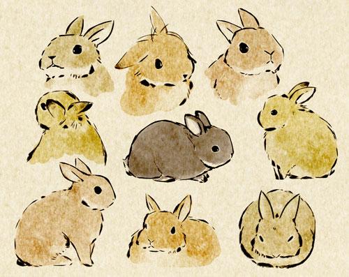 bunny-sketches-wallpaper-wp4604467-1
