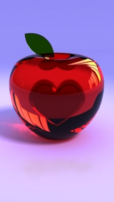 cherry-with-a-heart-inside-Iphone-wallpaper-wallpaper-wp4805219