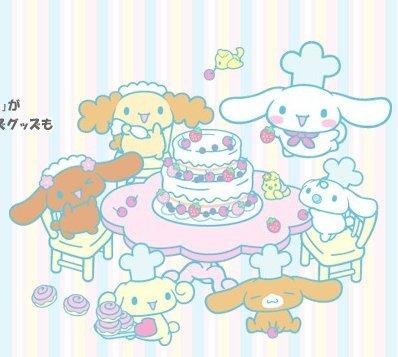 cinnamoroll-and-friends-Bake-a-cake-wallpaper-wp4003951-1