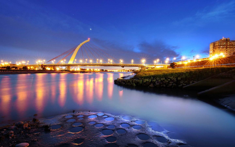 city-lights-and-bridges-Beautiful-Bridges-Free-Big-City-Lights-wallpaper-wp3004370