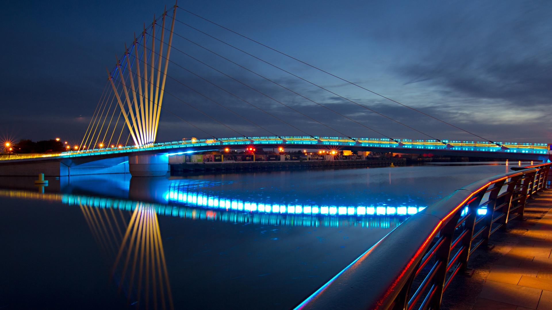 city-lights-and-bridges-City-Night-Bridge-Lights-The-Promenade-x-Download-wallpaper-wp3004376