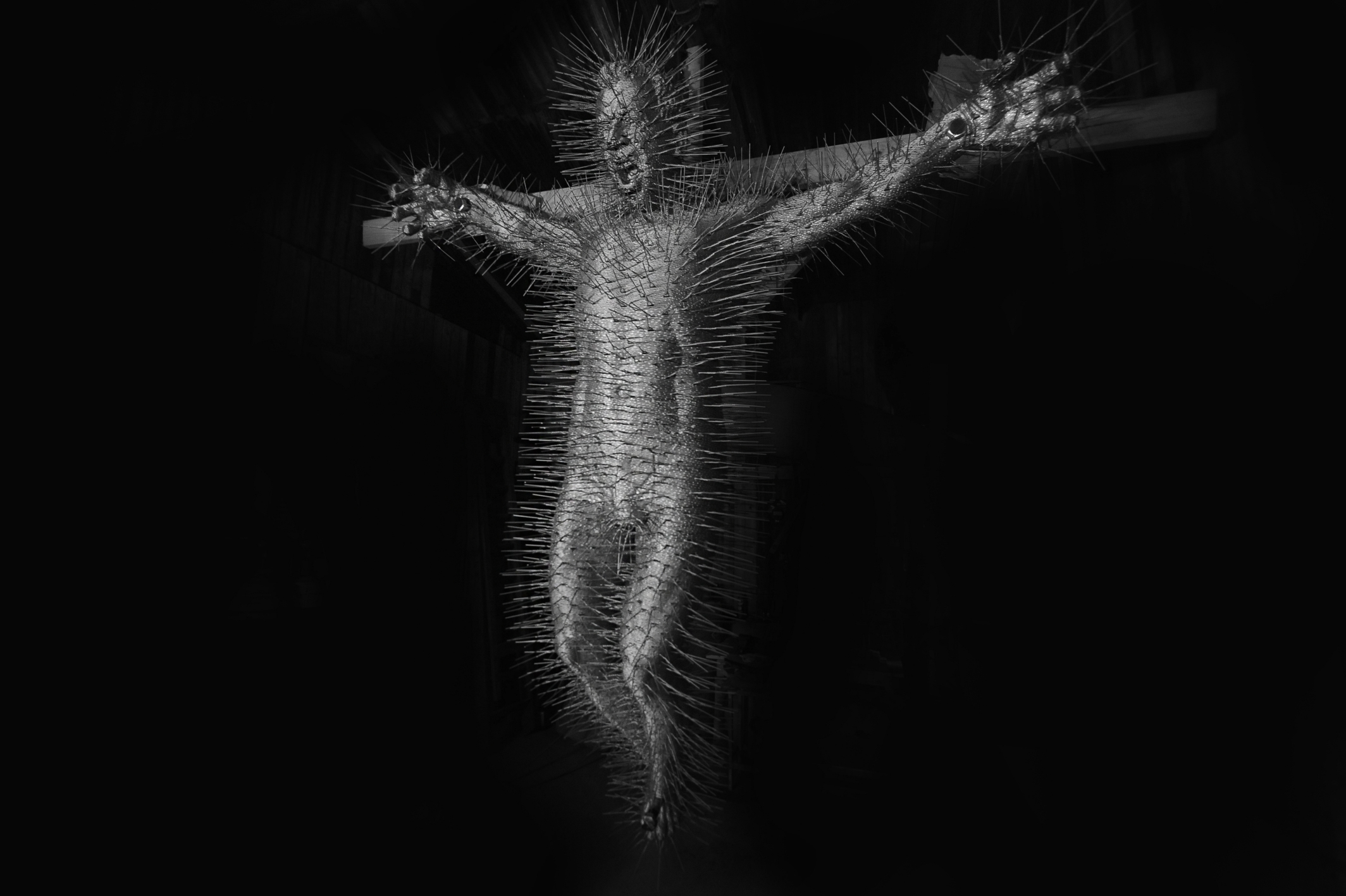 crucifixion-by-David-Mach-wallpaper-wp5404297