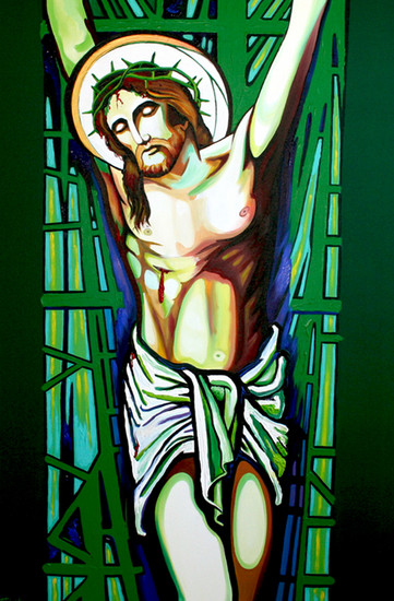 crucifixion-by-frank-wagtmans-wallpaper-wp5404298