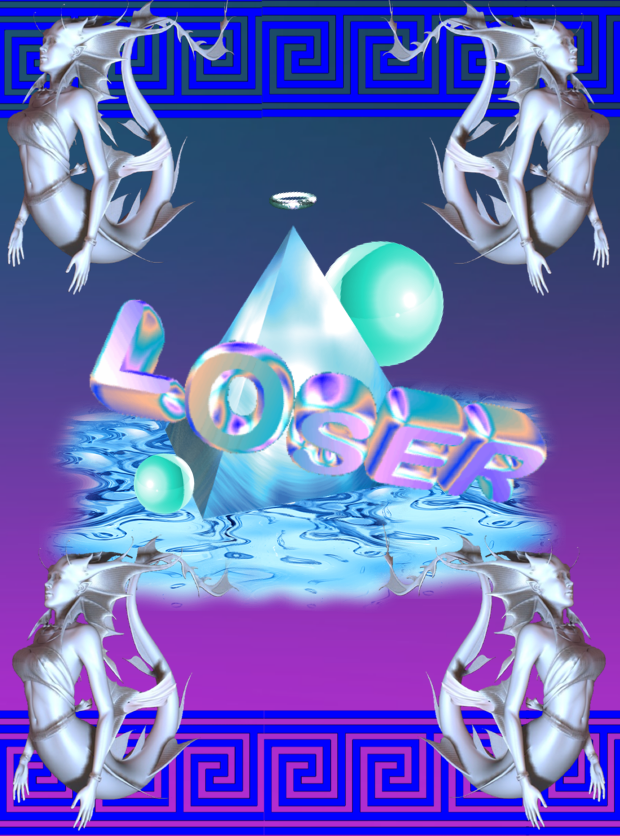 cyber-puy-STAY-HYDRATED-LOSER-wallpaper-wp4805670