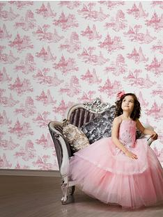 disney-princess-graham-brown-toile-wallpaper-wp5205841-1