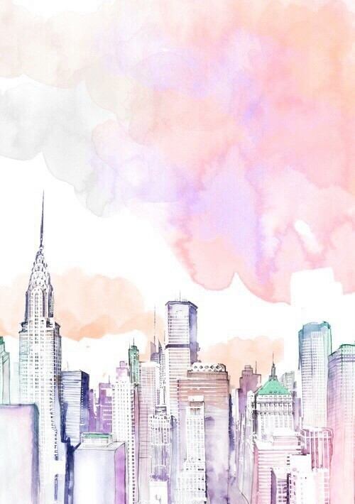 ebbdcfebfdae-watercolor-city-watercolor-journal-wallpaper-wp5003297