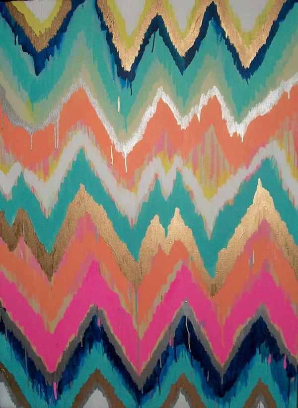 ecabcbacdf-chevron-paintings-ikat-painting-wallpaper-wp5006976