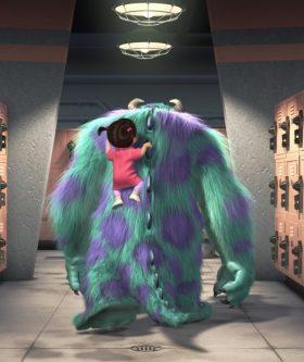 Boo Monsters Inc wallpaper