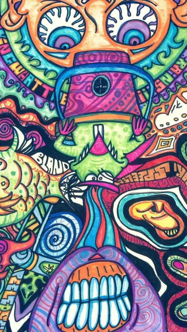 fish-psychedelic-trippy-artwork-traditional-art-faces-x-wallpaper-wp425436