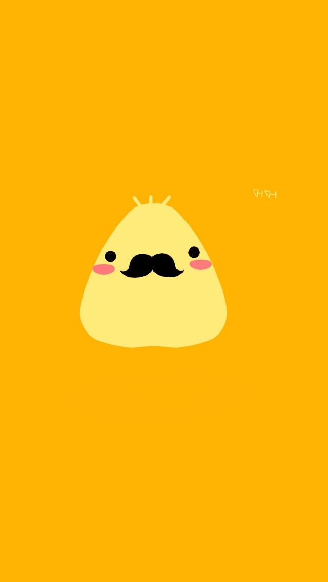 friggin-cute-mustache-for-iphone-wallpaper-wp4606059
