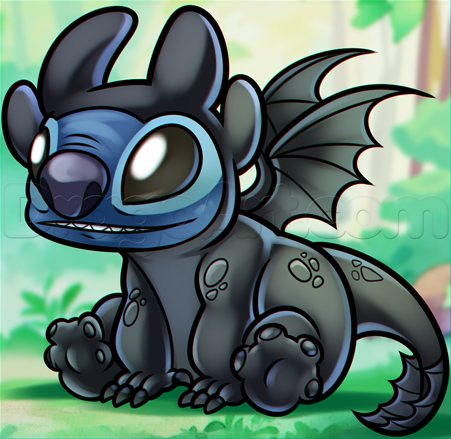 how-to-draw-toothless-stitch-wallpaper-wp5008701