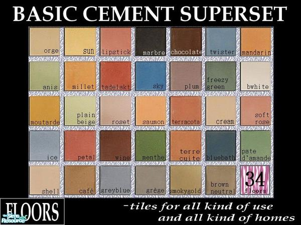 kibanahnah-s-Cassandre-s-Maximus-Cement-Basic-Set-wallpaper-wp426922