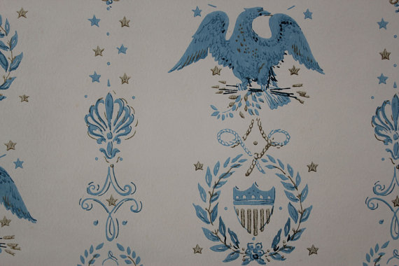 s-Vintage-Americana-Blue-Eagles-by-Rosies-wallpaper-wp4002317