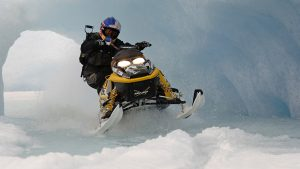 Snowmobiling wallpaper