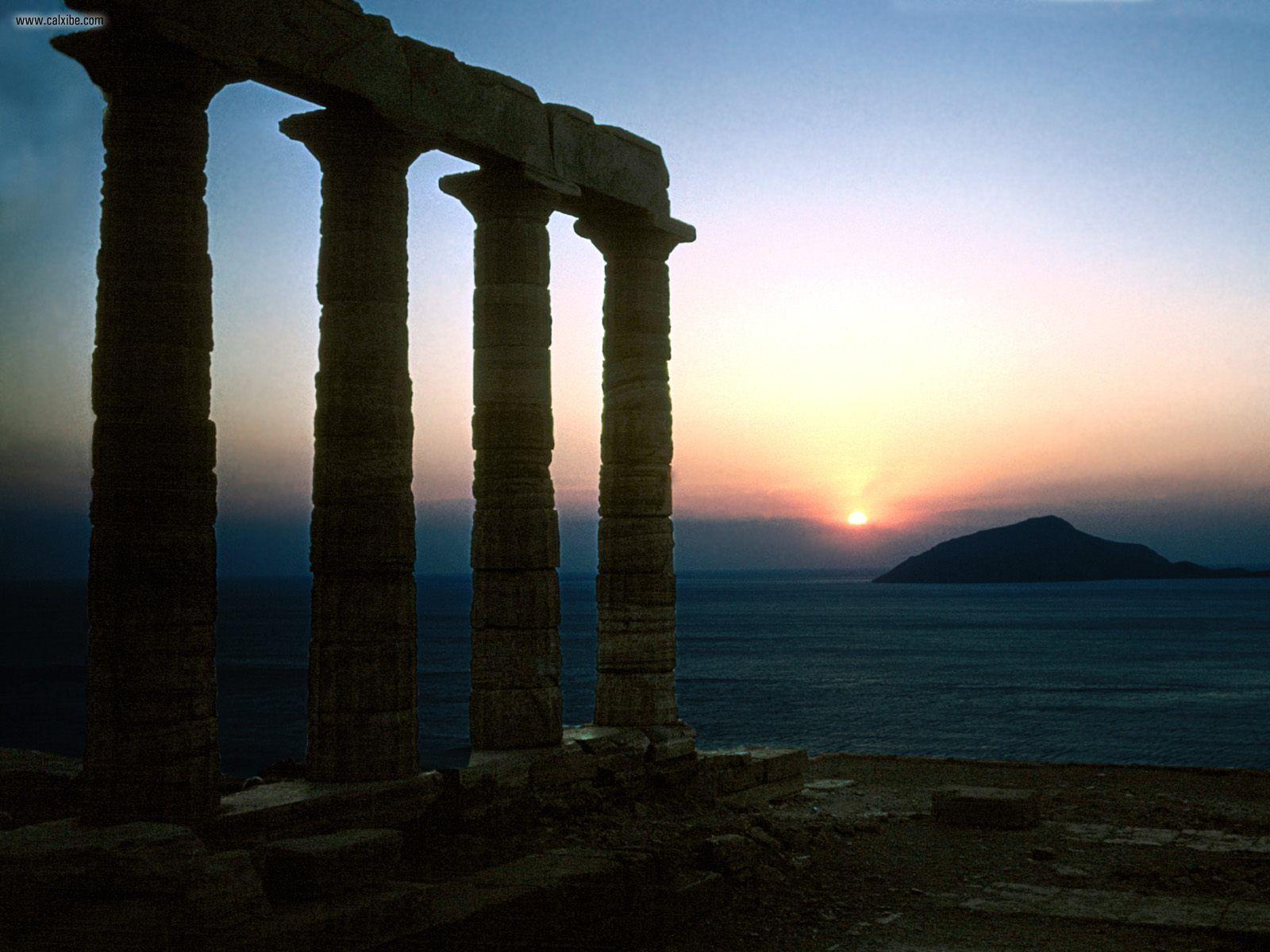 sunset-ruins-seas-hills-Greece-roman-empire-palace-Sounion-Cape-x-wallpaper-wp429458